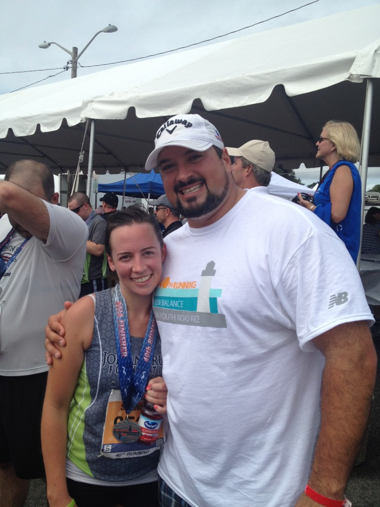 New Balance Falmouth Road Race Recruit - Joe Andruzzi Foundation