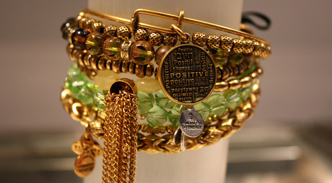 Alex and Ani Positive Is How I Live Bangle - Joe Andruzzi Foundation