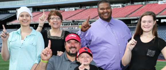 Points for Patients Winners with Joe Andruzzi