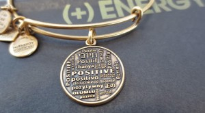 Alex & Ani CHARITYBYDESIGN Positive Is How I Live Bangle