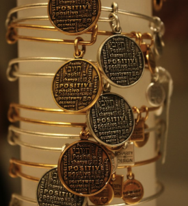 Alex & Ani Positive Is How I Live Bangles