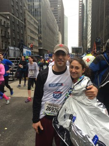 Daniel Friedman United Airlines NYC Half Marathon - Joe Andruzzi Foundation