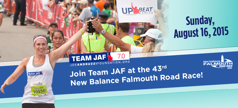 Team JAF 2015 Falmouth Road Race Banner