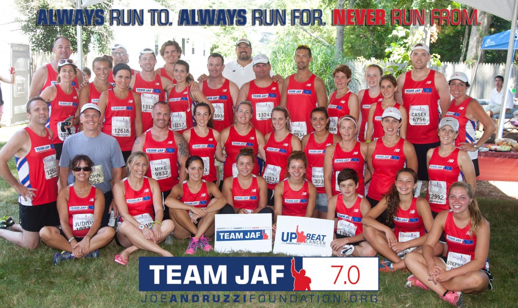 2015 Falmouth Road Race - Team JAF Group Picture
