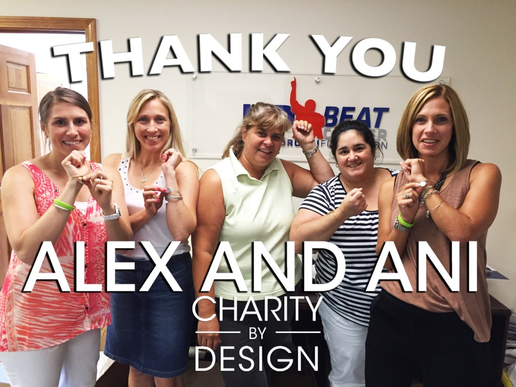 JAF team wearing Alex and ani bracelets - Thank you