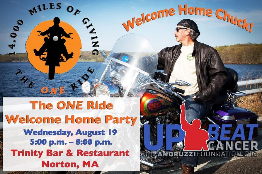 The ONE Ride welcome home party