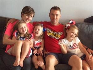 Andrea Vandette & family
