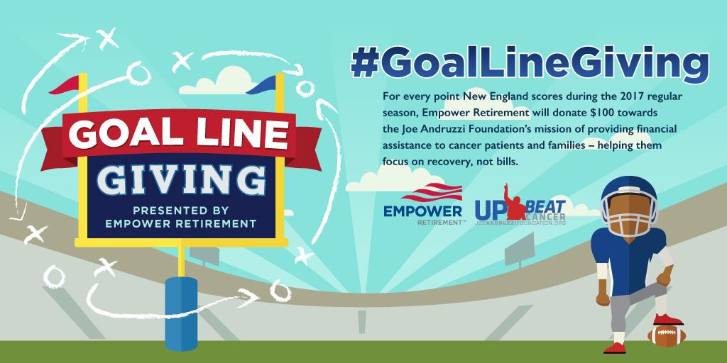 Goal Line Giving banner