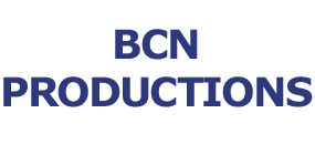 BCN Productions Name Logo
