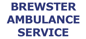 Brewster Ambulance Service NAME LOGO