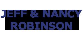 Jeff & Nancy Robinson NAME LOGO