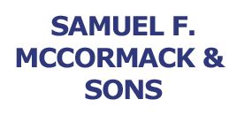 Samuel F McCormack And Sons Name Logo