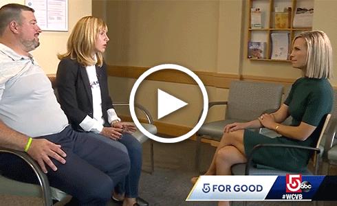 5 For Good WCVB Erika Tarantal Joe Andruzzi Foundation