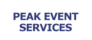 Peak Event Services NAME LOGO