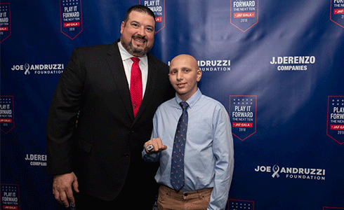 Joe Andruzzi Gala Sun Chronicle
