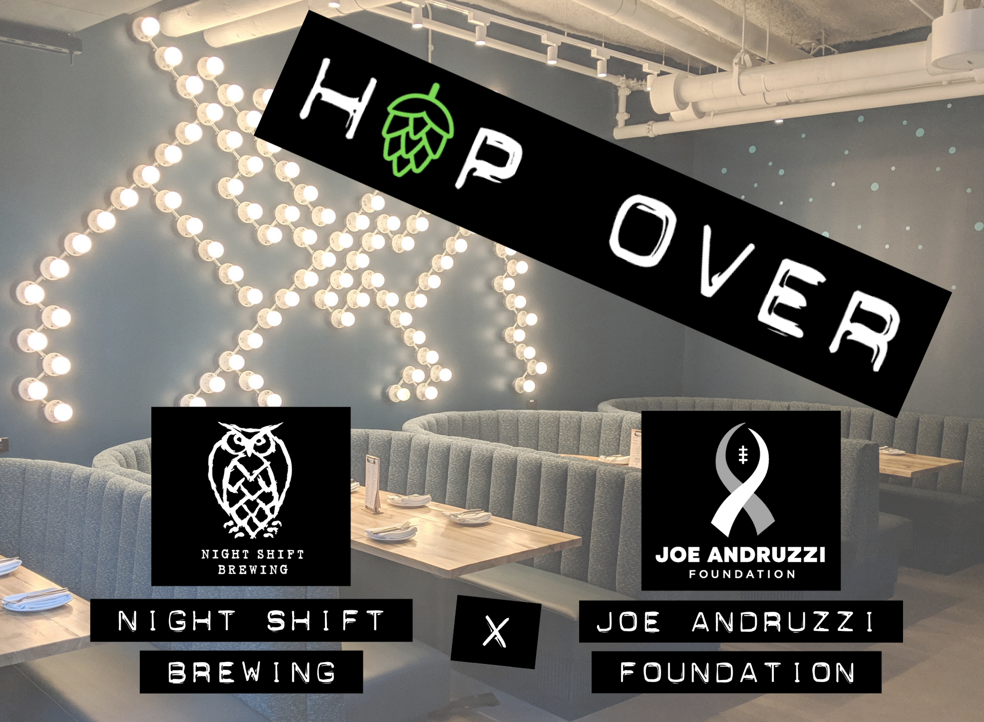JAF Hop Over Night Shift Brewing Event Page Header Image